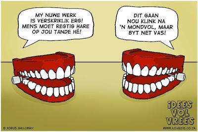 hare op jou tande
