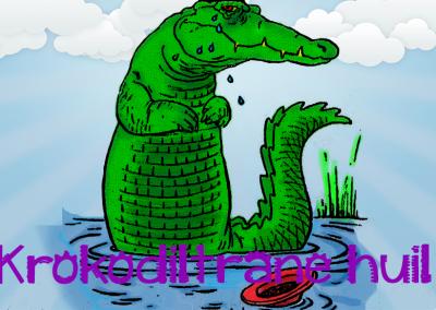 krokodil trane