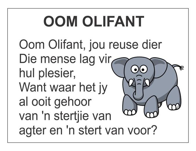 oom olifant